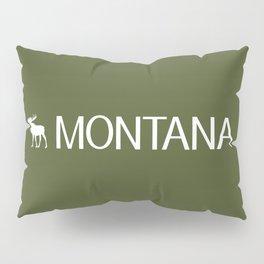 Montana: Moose (Mountain Green) Pillow Sham