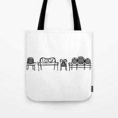Tonet chairs Tote Bag