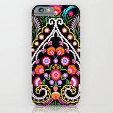 folk damask iPhone 6 Slim Case