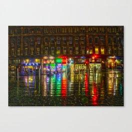 Glasgow HDR Canvas Print