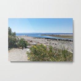 Sunshine Coast BC Canada Metal Print