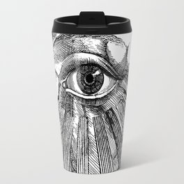 Engraving - Eyed Heart Travel Mug