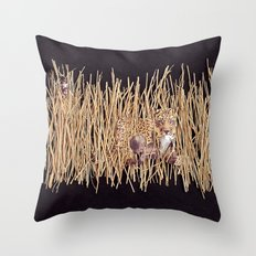A Nightmare in Afrika Throw Pillow