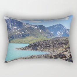 Alaska Glacial Lake Rectangular Pillow
