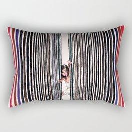 Parallel Dimensions Rectangular Pillow