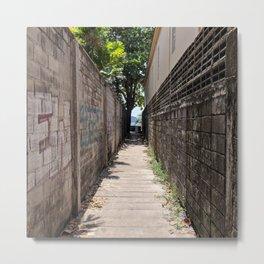 Alleyway to Kata Beach Thailand Metal Print