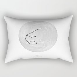 Moon astrology - Zodiac Aquarius Rectangular Pillow