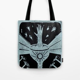 Manifestation (Black) Tote Bag