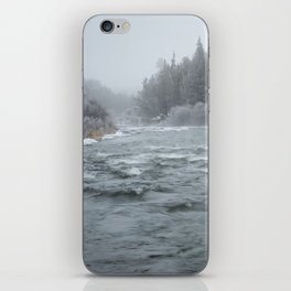 Winter On The Deschutes River iPhone Skin
