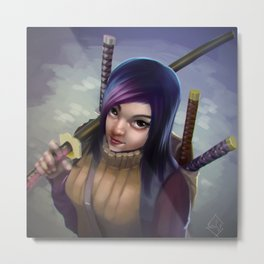 The Weapon Merchant Metal Print
