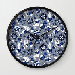 On ice Wall Clock