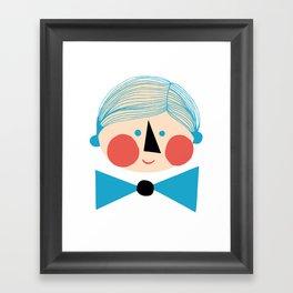 Herra Framed Art Print
