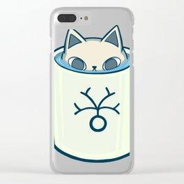 Nurro in a Neuron Mug Clear iPhone Case