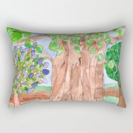 The majestic Tree Rectangular Pillow
