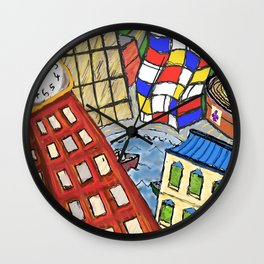 Baltimore In My Dreams Wall Clock