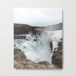 Gullfoss - Landscape Photography Metal Print
