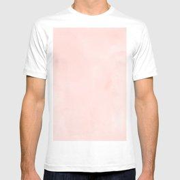 Seashell Pink Watercolor T-shirt