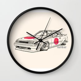 Crazy Car Art 0164 Wall Clock