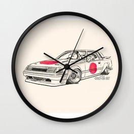 Crazy Car Art 0164 Wall Clock