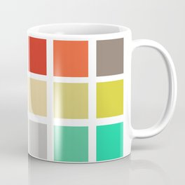 squares and rainbows Coffee Mug