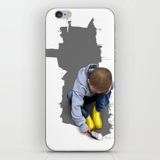 To Live with No Thought for the Future iPhone & iPod Skin