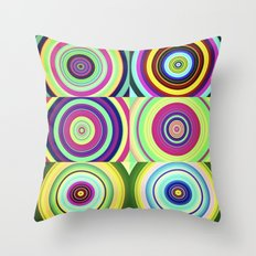 The Lie is a Round Truth, No. 6 Throw Pillow