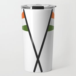 india flag Travel Mug