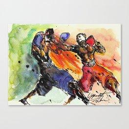 Uppercut! Canvas Print