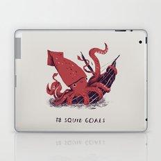squid goals #squadgoals shirt Laptop & iPad Skin
