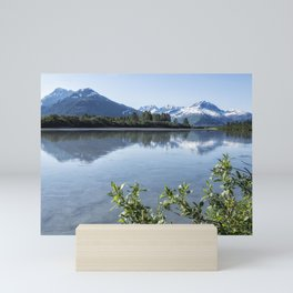 Placer River at the Bend in Turnagain Arm, No. 2 Mini Art Print