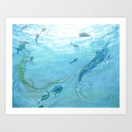 The Old Man & the Sea Art Print