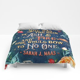 Ash & Fire Comforters
