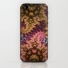 Dragon dreams, fractal pattern abstract iPhone Skin