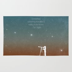 Through the Telescope Rug