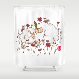 Zoo Bizarre l Summer 2018 Shower Curtain