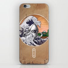 THE GREAT WAVE iPhone & iPod Skin