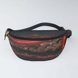 Extremely hot coffee Whitney Chili in contrasts Fanny Pack