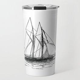 Engraved Yacht Travel Mug