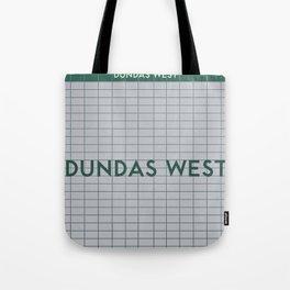 DUNDAS WEST | Subway Station Tote Bag