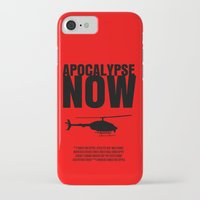 apocalypse now iPhone & iPod Cases featuring Apocalypse Now Move Poster by FunnyFaceArt