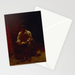 12,000pixel-500dpi - The Lord Is My Shepherd - Eastman Johnson Stationery Cards