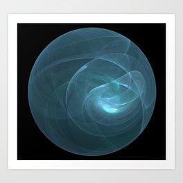 Light Smoke Bubble Art Print