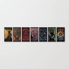 The Dark Tower Cycle Canvas Print