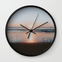 HALF MOON BAY VI Wall Clock