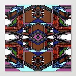 Internal Kaleidoscopic Daze- 22 Canvas Print