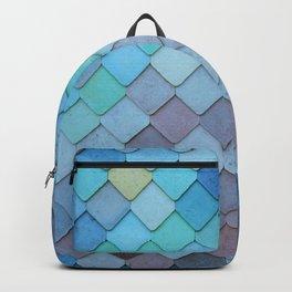 Blue Tiles (Color) Backpack