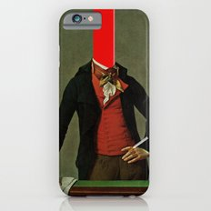 The red stripe in the head and the cigarette in the hand iPhone 6s Slim Case