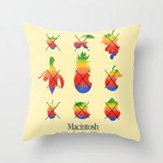mac forbidden fruits Throw Pillow