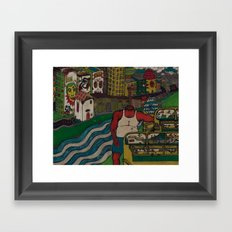 City of Angels Framed Art Print