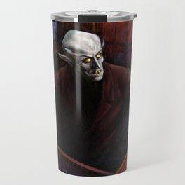 Dracula Nosferatu Vampire King Travel Mug